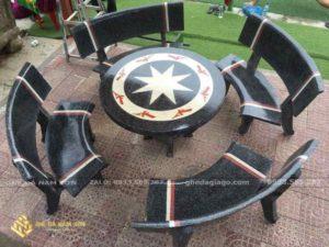 giá bộ bàn ghế đá 4