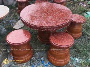 bàn ghế đá giá rẻ 1