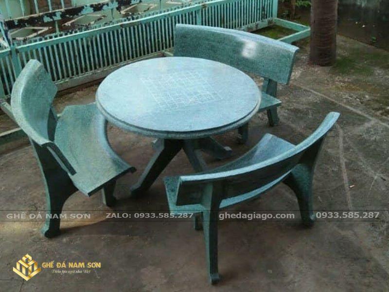 bàn ghế đá giá rẻ 3