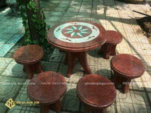 giá bộ bàn ghế đá sân vườn 2