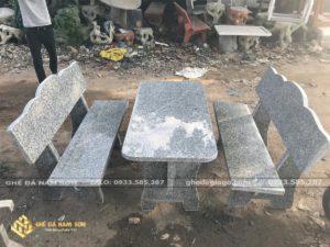 bán bộ bàn ghế đá hoa cương