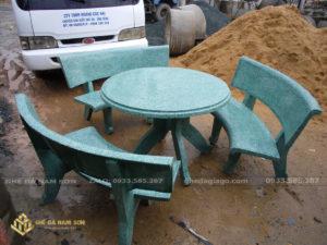 Lam ghế đá bán bàn ghế đá