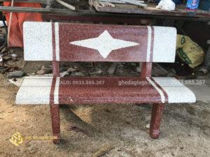 phân phối ghế đá trắng đỏ ngôi sao tại Nam Sơn