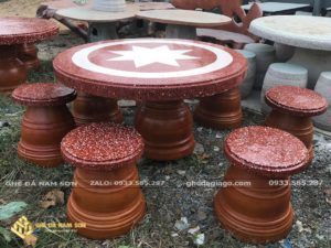 Bộ bàn ghế đá nhỏ uy tín tại tphcm
