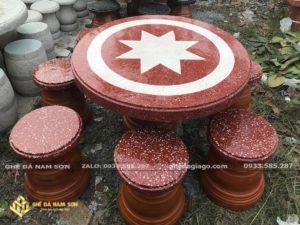 Nam Sơn Bán Bộ bàn ghế đá nhỏ